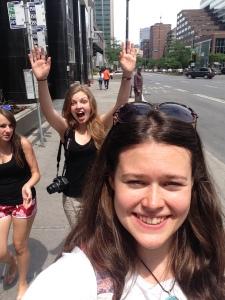 Sest me oleme Kanadaaas! We feel so excited!!