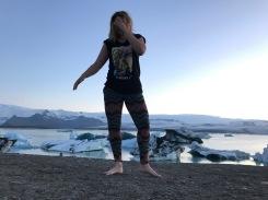 Photoshoot Glacier Lagoonis :)